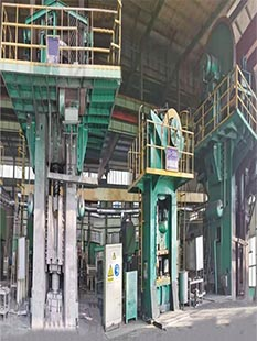4000T+2500T Friction Press Production Line